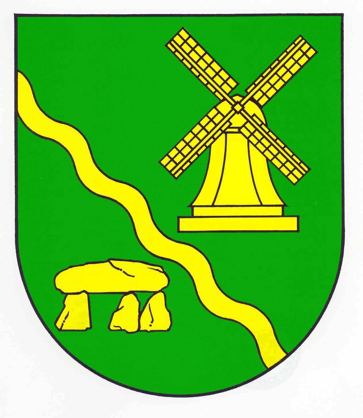 Wappen GemeindeWensin, Kreis Segeberg