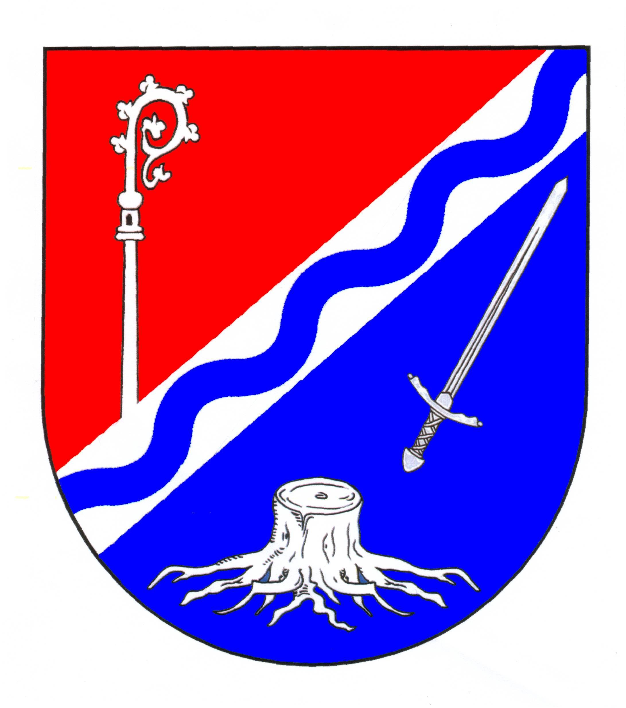 Wappen GemeindeWesenberg, Kreis Stormarn