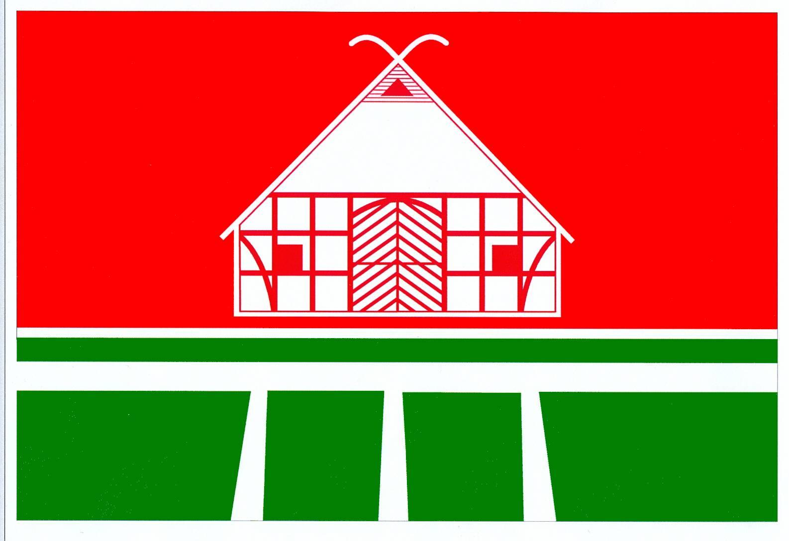 Flagge StadtWesselburen, Kreis Dithmarschen