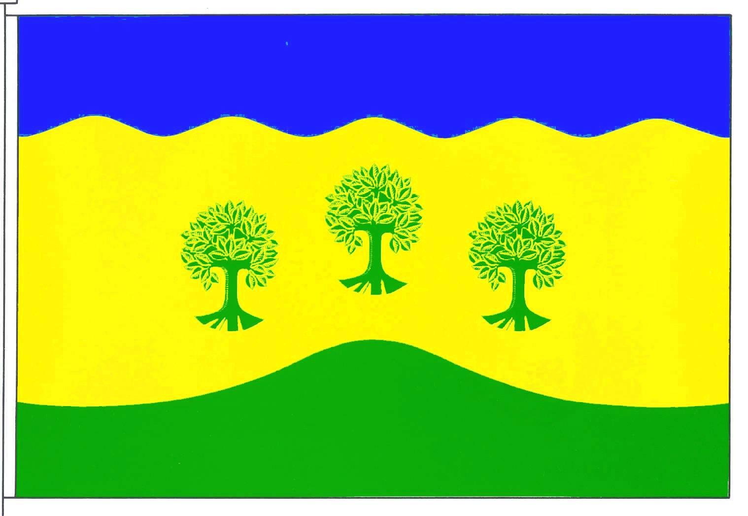 Flagge GemeindeWesseln, Kreis Dithmarschen