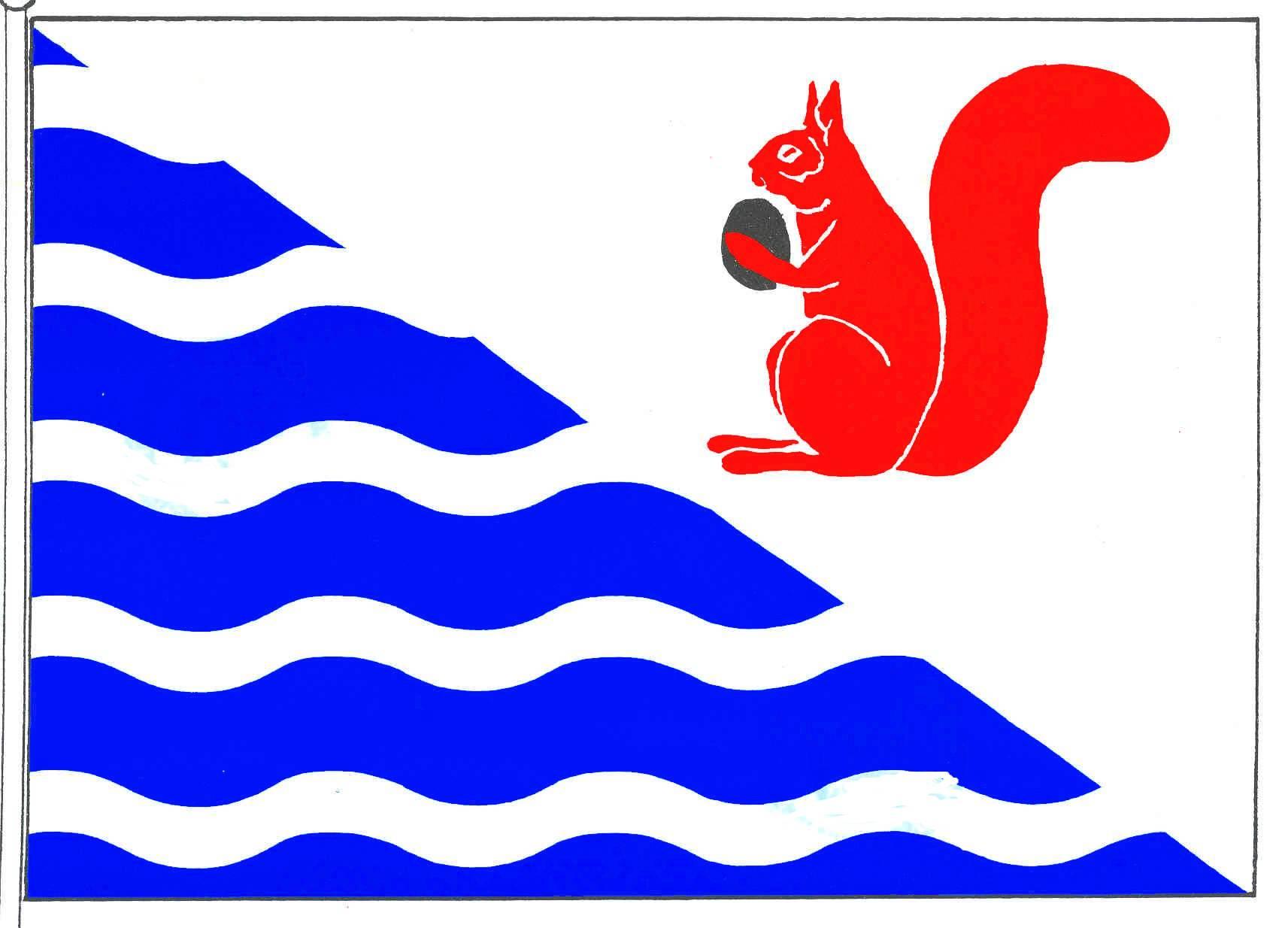 Flagge GemeindeWestensee, Kreis Rendsburg-Eckernförde