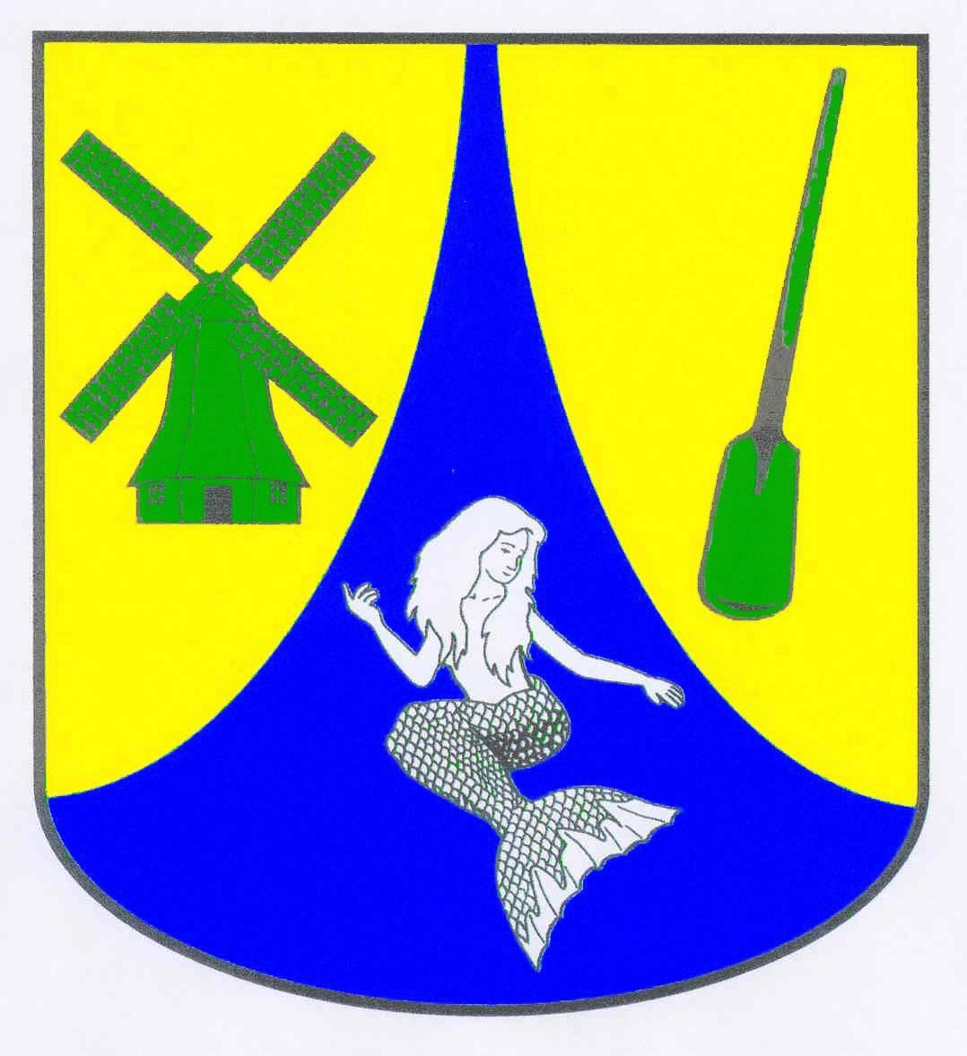 Wappen GemeindeWesterdeichstrich, Kreis Dithmarschen