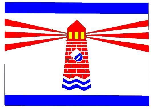 Flagge StadtWesterland, Kreis Nordfriesland