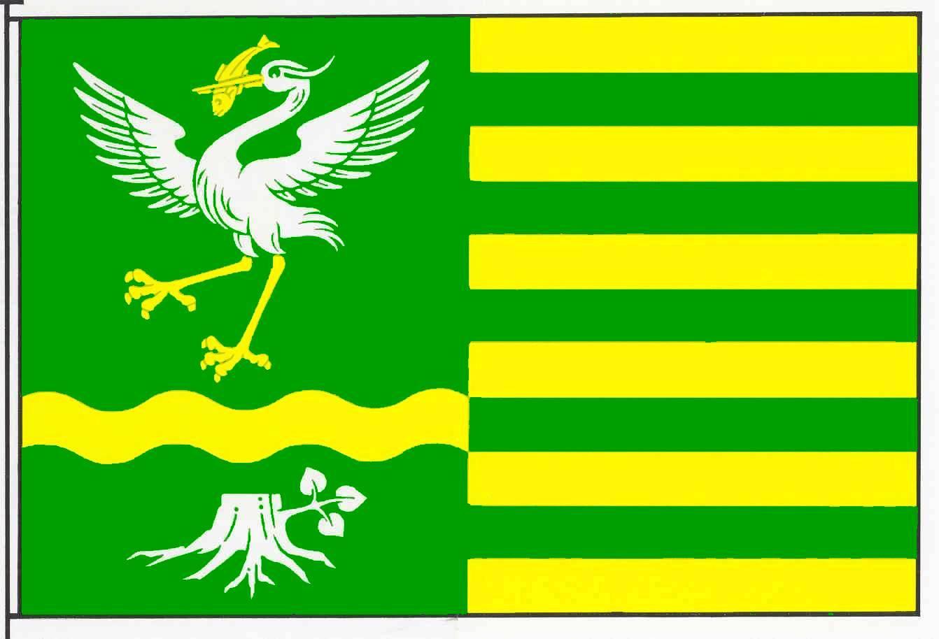 Flagge GemeindeWesterrade, Kreis Segeberg