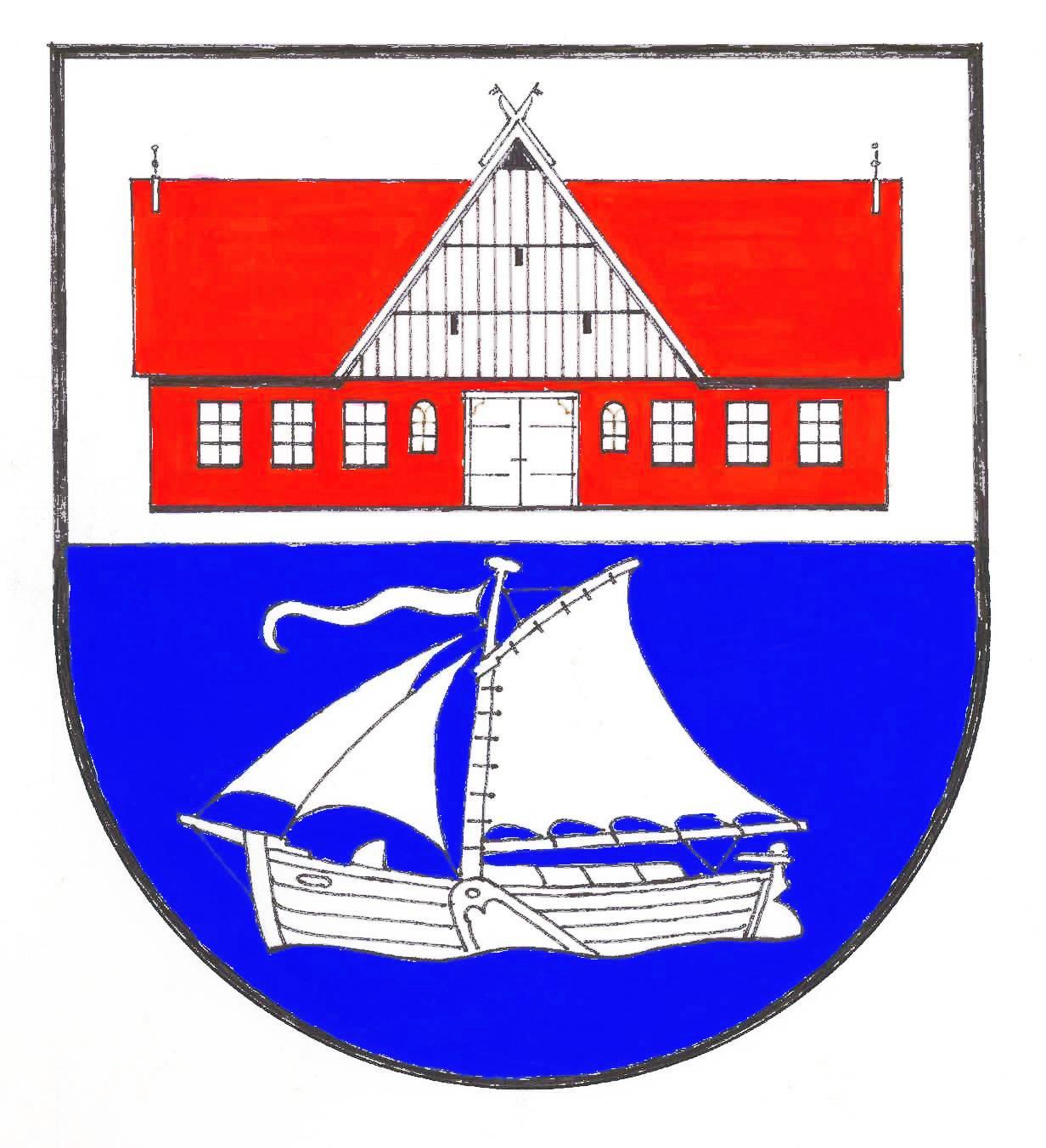 Wappen GemeindeWewelsfleth, Kreis Steinburg
