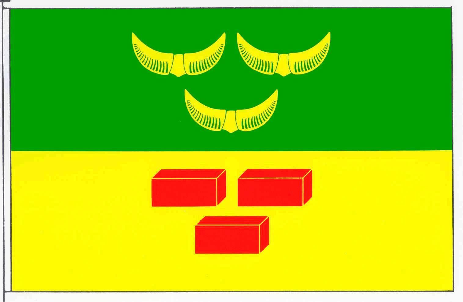 Flagge GemeindeWiemersdorf, Kreis Segeberg