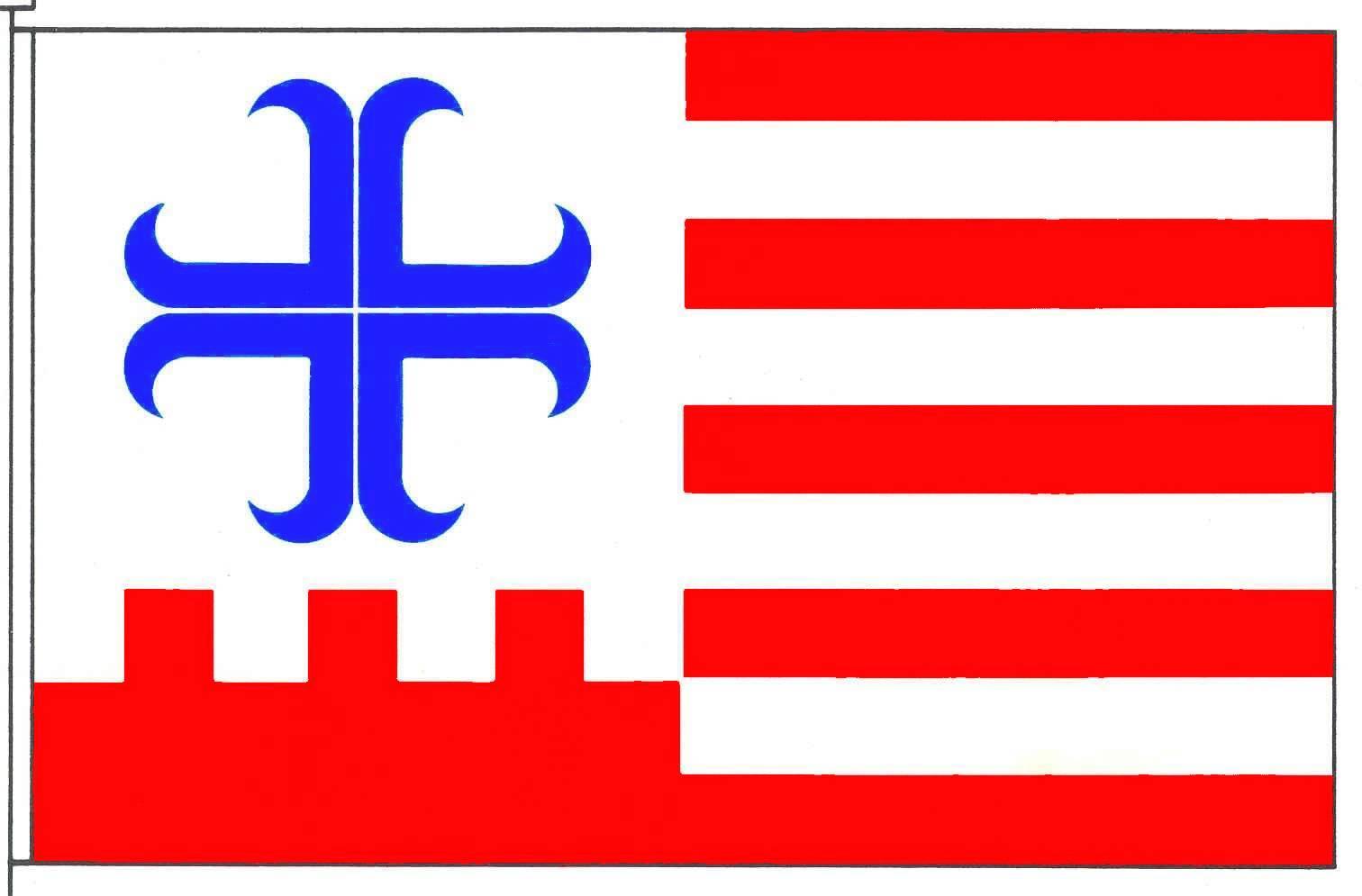 Flagge GemeindeWindbergen, Kreis Dithmarschen