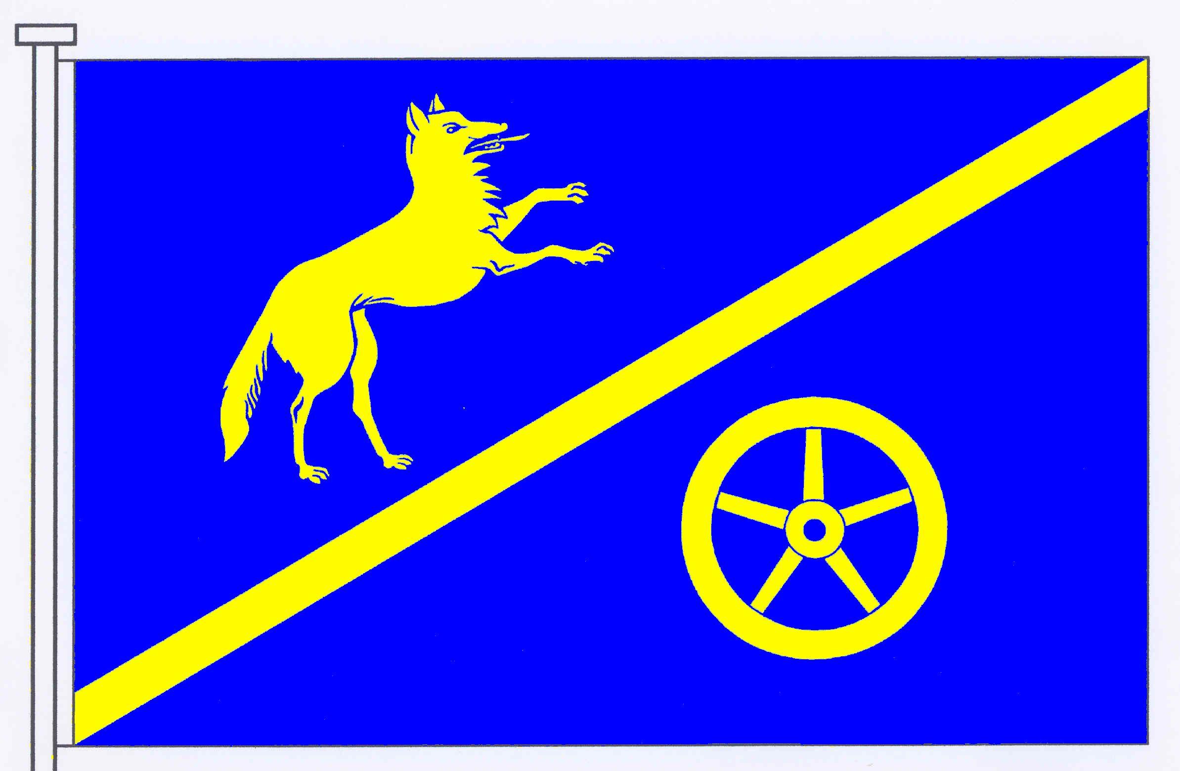 Flagge GemeindeWindeby, Kreis Rendsburg-Eckernförde