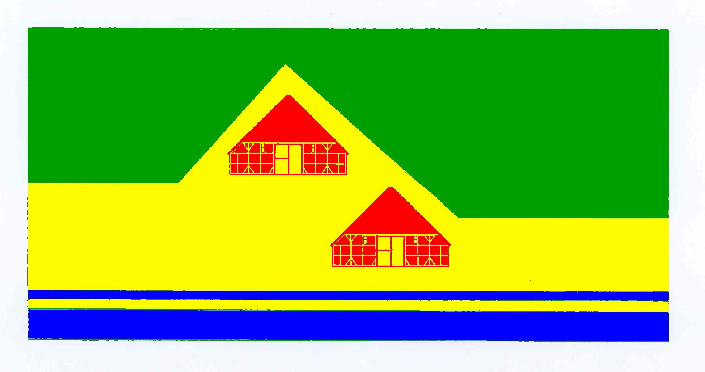 Flagge GemeindeWinnert, Kreis Nordfriesland