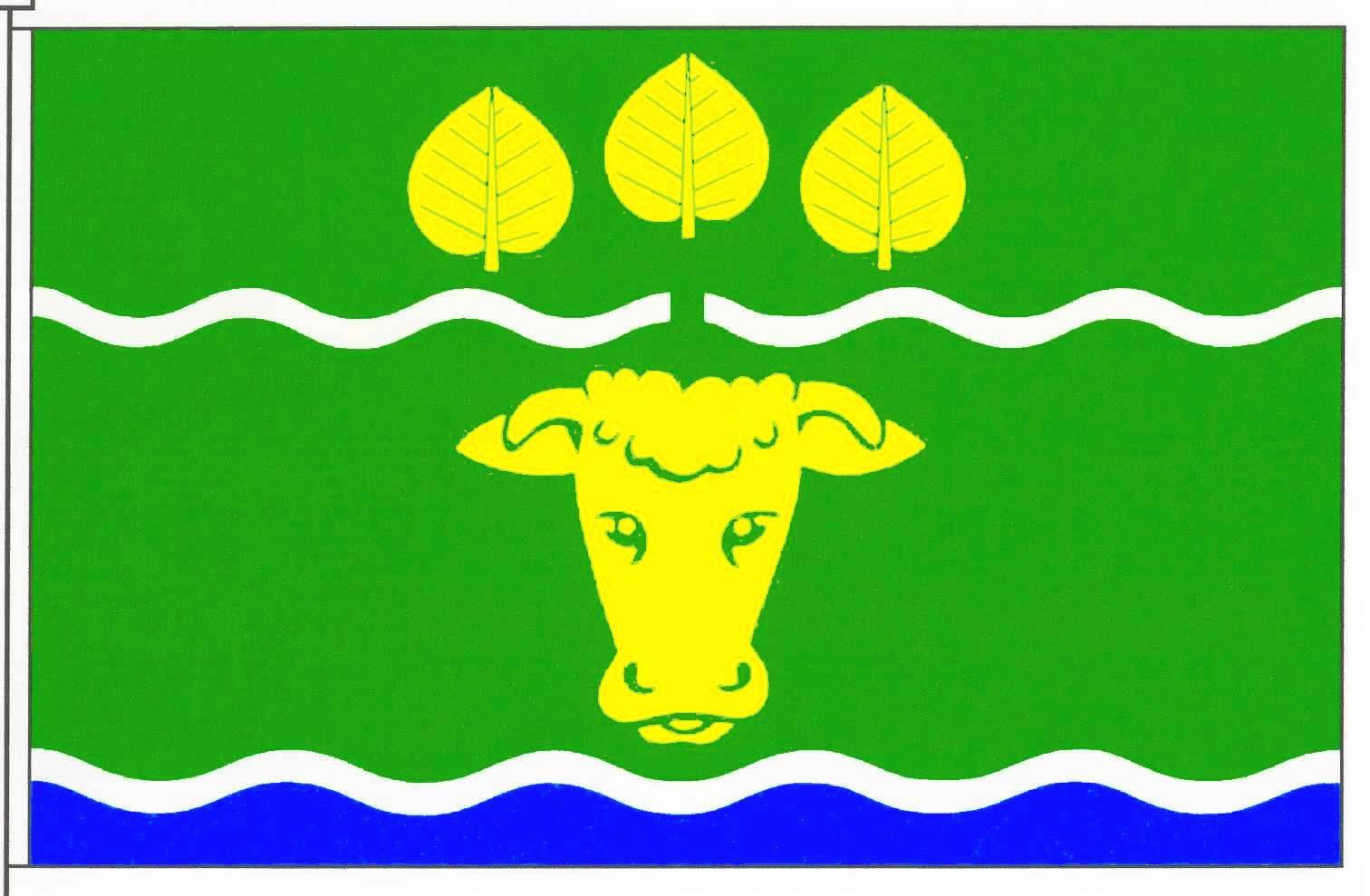 Flagge GemeindeWittbek, Kreis Nordfriesland