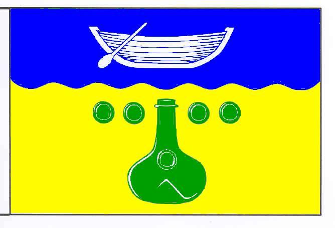 Flagge GemeindeWittmoldt, Kreis Plön