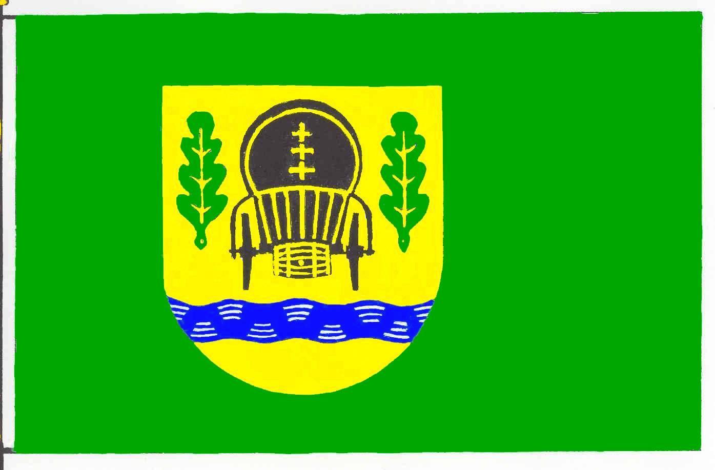 Flagge GemeindeWitzeeze, Kreis Herzogtum Lauenburg