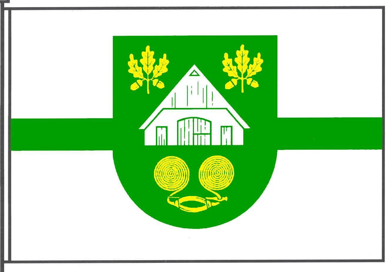 Flagge GemeindeWitzhave, Kreis Stormarn