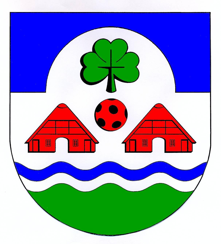 Wappen GemeindeWolmersdorf, Kreis Dithmarschen