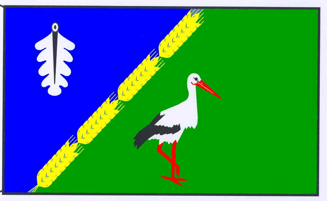 Flagge GemeindeWoltersdorf, Kreis Herzogtum Lauenburg