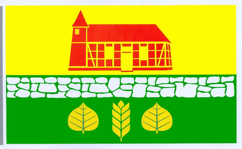 Flagge GemeindeWorth, Kreis Herzogtum Lauenburg