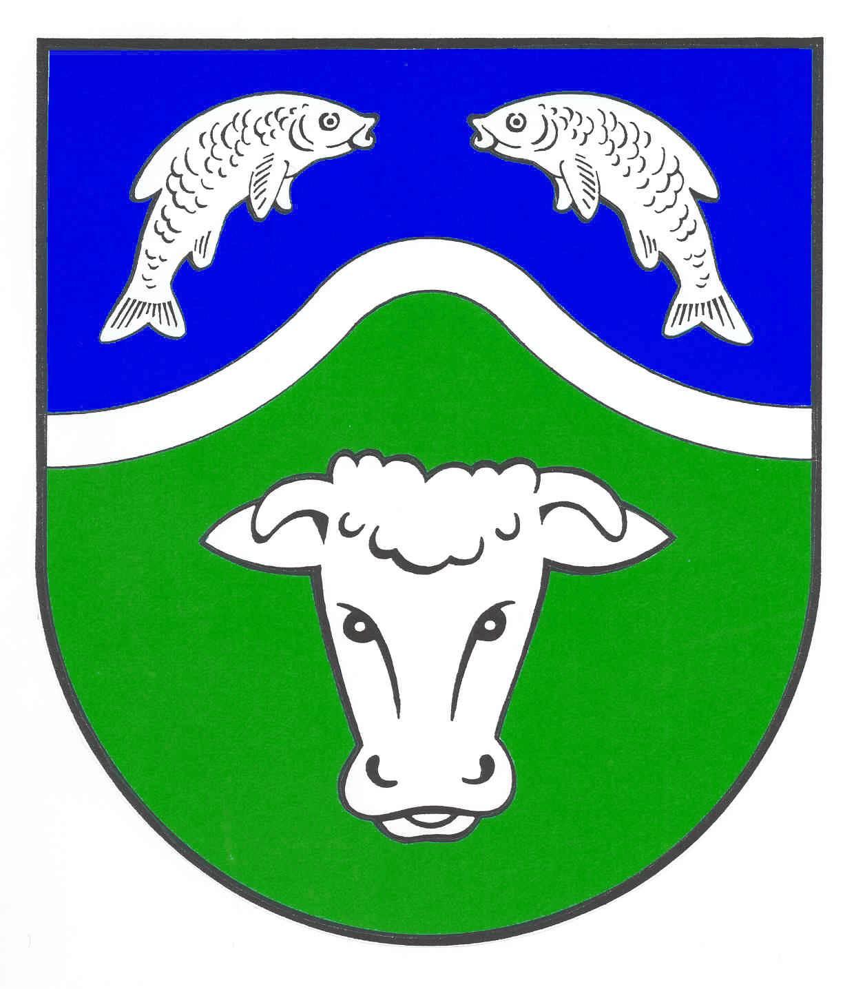 Wappen GemeindeWrohm, Kreis Dithmarschen