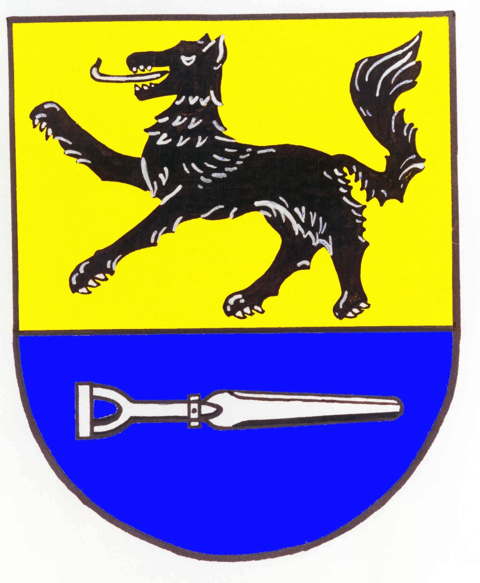 Wappen GemeindeWulfsmoor, Kreis Steinburg