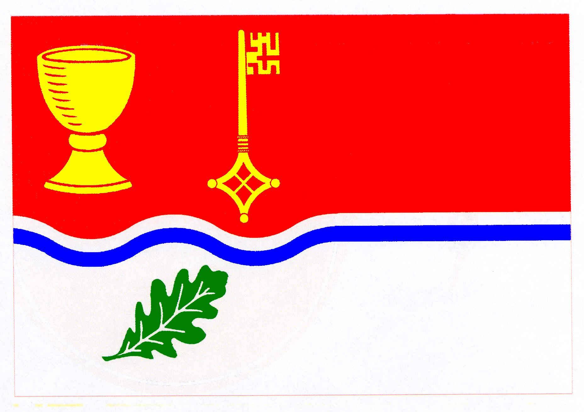 Flagge GemeindeZarpen, Kreis Stormarn
