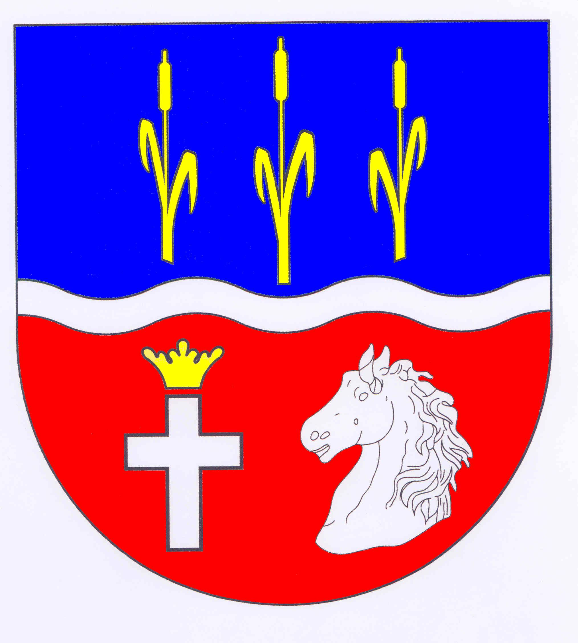 Wappen GemeindeZiethen, Kreis Herzogtum Lauenburg